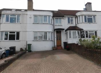 Thumbnail 3 bed terraced house for sale in Benhurst Gardens, South Croydon, Surrey