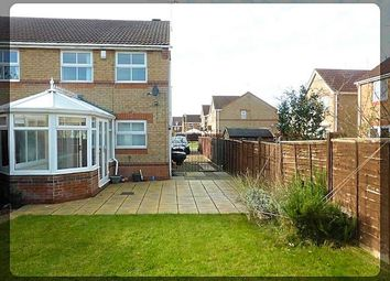 Thumbnail 3 bedroom semi-detached house to rent in Blackwater Way, Kingswood, Hull
