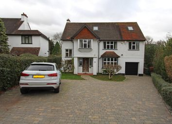 Thumbnail 5 bed detached house to rent in Highwold, Chipstead, Coulsdon