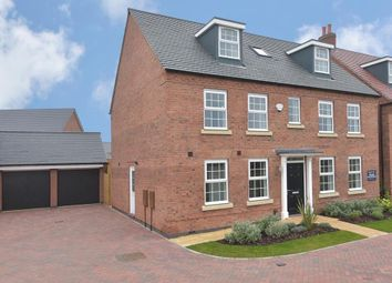 "Thumbnail 5 bedroom detached house for sale in ""Buckingham"" at Fleece Lane, Nuneaton"