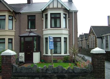Thumbnail 3 bed semi-detached house to rent in Margam Road, Margam