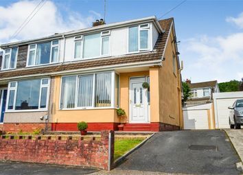 Thumbnail 3 bed semi-detached house for sale in St Aiden Drive, Killay, Swansea, West Glamorgan
