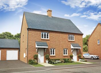 "Thumbnail 2 bed end terrace house for sale in ""The Sutton"" at Ashton Road, Roade, Northampton"