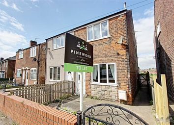 Thumbnail 3 bed semi-detached house to rent in Coronation Road, Brimington, Chesterfield, Derbyshire