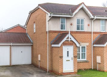 Thumbnail 2 bed end terrace house for sale in Nidd Close, Nether Poppleton, York