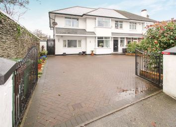 Thumbnail 5 bedroom semi-detached house for sale in Milehouse Road, Stoke, Plymouth