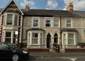 Thumbnail 1 bed flat to rent in De Burgh Street, Riverside, Cardiff