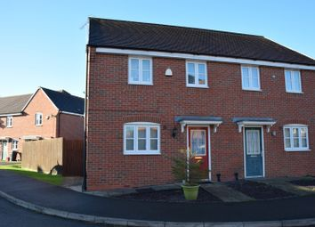 Thumbnail 3 bed property for sale in Drew Court, Ashby De La Zouch