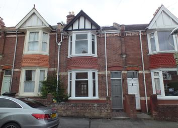 Thumbnail 3 bed terraced house to rent in East Grove Road, St Leonards, Exeter, Devon