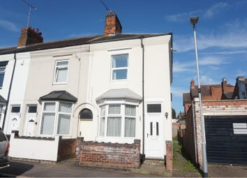 Thumbnail 3 bed end terrace house for sale in Clarkes Road, Wigston