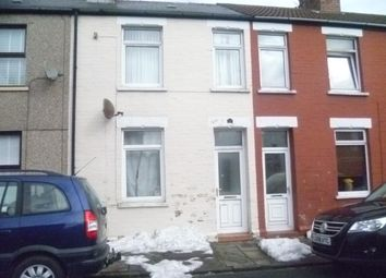 Thumbnail 3 bedroom terraced house to rent in Dunraven Street, Barry