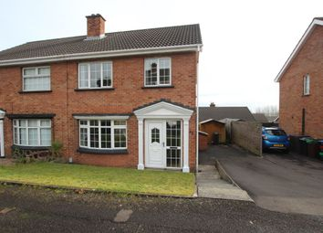 Thumbnail 3 bedroom semi-detached house for sale in Hillcrest Drive, Newtownabbey