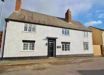 Thumbnail 4 bed cottage for sale in The Croft, Turn Street, Syston
