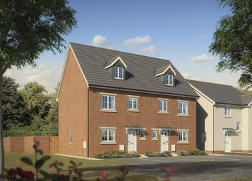"""Thumbnail 4 bed town house for sale in """"The Monnow"""" at Litchard Hill, Bridgend"""