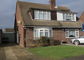 Thumbnail 3 bed semi-detached house for sale in Eastbury Avenue, Ashingdon, Rochford