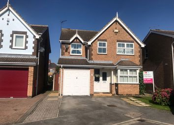 Thumbnail 4 bed detached house for sale in Thornbridge Close, Hull