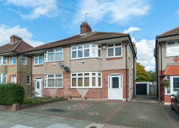 Thumbnail 3 bed semi-detached house for sale in Alderney Gardens, Northolt, Middlesex