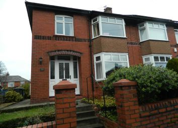 Thumbnail 3 bedroom semi-detached house to rent in Hillside Crescent, Bury