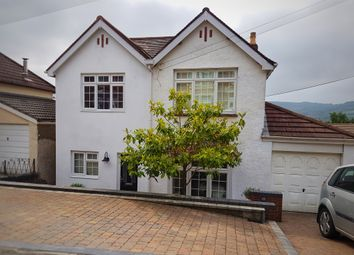 Thumbnail 4 bed detached house for sale in Gelli Crescent, Risca, Newport