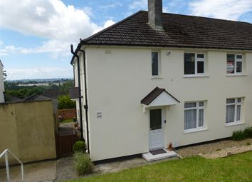 Thumbnail 2 bedroom flat for sale in Taunton Avenue, Plymouth