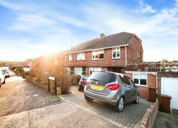Thumbnail 3 bed semi-detached house for sale in Hurstwood, Davis Estate, Chatham, Kent