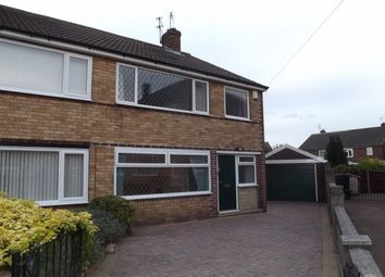 Thumbnail 3 bed property to rent in Kirkstall Close, Scawsby, Doncaster