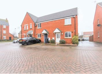 Thumbnail 2 bed end terrace house for sale in Heron Croft, Soham, Ely