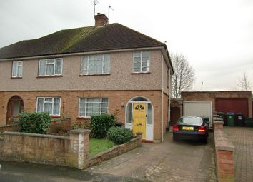 Thumbnail 3 bed semi-detached house for sale in Crown Rise, Watford, Herts