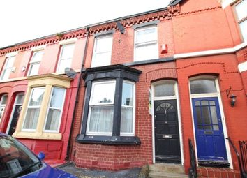 Thumbnail 3 bed terraced house for sale in Bryanston Road, Aigburth, Liverpool