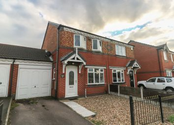 Thumbnail 2 bed semi-detached house for sale in Coppice Road, Coseley, Bilston