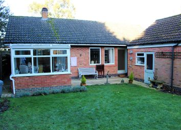 Thumbnail 3 bedroom detached bungalow for sale in Medbourne Road, Hallaton, Market Harborough