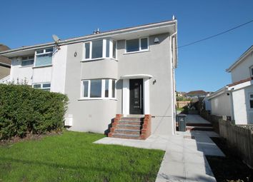 Thumbnail 3 bed semi-detached house for sale in Raglan Terrace, Beaufort, Ebbw Vale