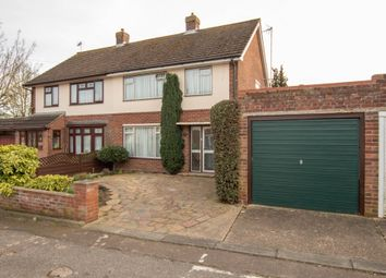 Thumbnail 3 bed semi-detached house for sale in Francis Close, Haverhill