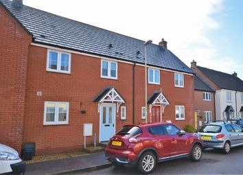 Thumbnail 3 bed terraced house for sale in Hawks Drive, Tiverton