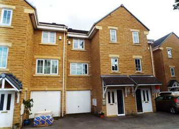 Thumbnail 4 bed terraced house for sale in Oakwood Gardens, Halifax, West Yorkshire