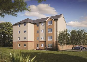 "Thumbnail 2 bed flat for sale in ""The Yarrow "" at Gilbertfield Road, Cambuslang, Glasgow"