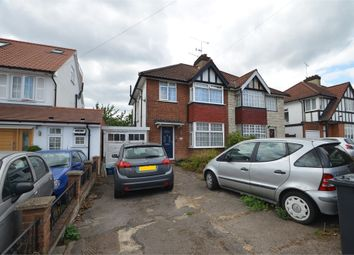 Thumbnail 3 bed semi-detached house for sale in Ellesmere Avenue, London