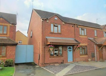 Thumbnail 2 bedroom semi-detached house for sale in Uttoxeter Close, Wolverhampton
