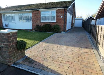 Thumbnail 2 bed semi-detached bungalow to rent in Highcroft Crescent, Bognor Regis
