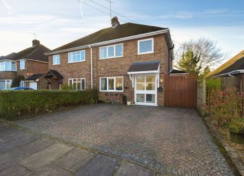 Thumbnail 3 bed semi-detached house for sale in Coombe Drive, Dunstable
