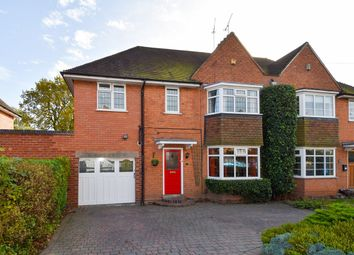 Thumbnail 5 bedroom semi-detached house for sale in Meadow Brook Road, Bournville Village Trust, Birmingham