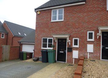Thumbnail 2 bedroom semi-detached house for sale in Bates Lane, Peterborough