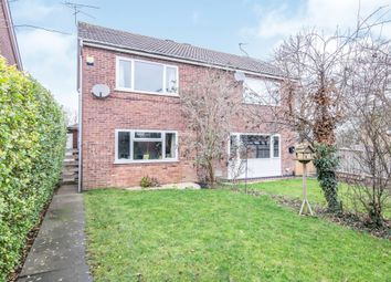 Thumbnail 2 bed semi-detached house for sale in Blakesley Walk, Beaumont Leys, Leicester