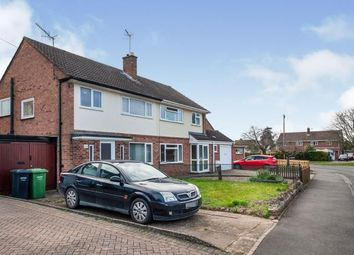 Thumbnail 3 bed semi-detached house for sale in Durcott Road, Evesham, Worcestershire