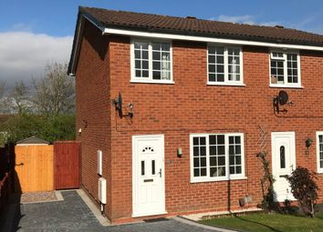 Thumbnail 2 bed semi-detached house to rent in Stoneleigh Close, Redditch