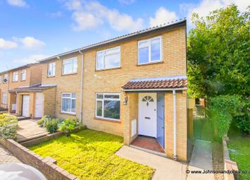 Thumbnail 3 bed semi-detached house for sale in Larksfield, Egham