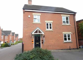 Thumbnail 3 bedroom detached house for sale in Bird Close, Earl Shilton, Leicester