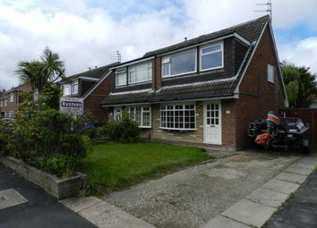 Thumbnail 3 bedroom semi-detached bungalow for sale in Valentia Road, Blackpool
