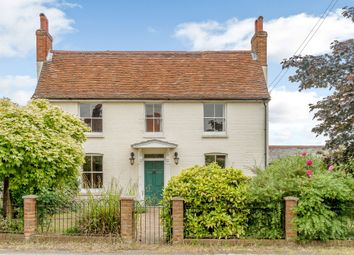 Thumbnail 4 bed detached house for sale in Main Road, Wormingford, Colchester