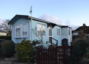 Thumbnail 1 bed mobile/park home for sale in Meadow Park, Sherfield-On-Loddon, Hook